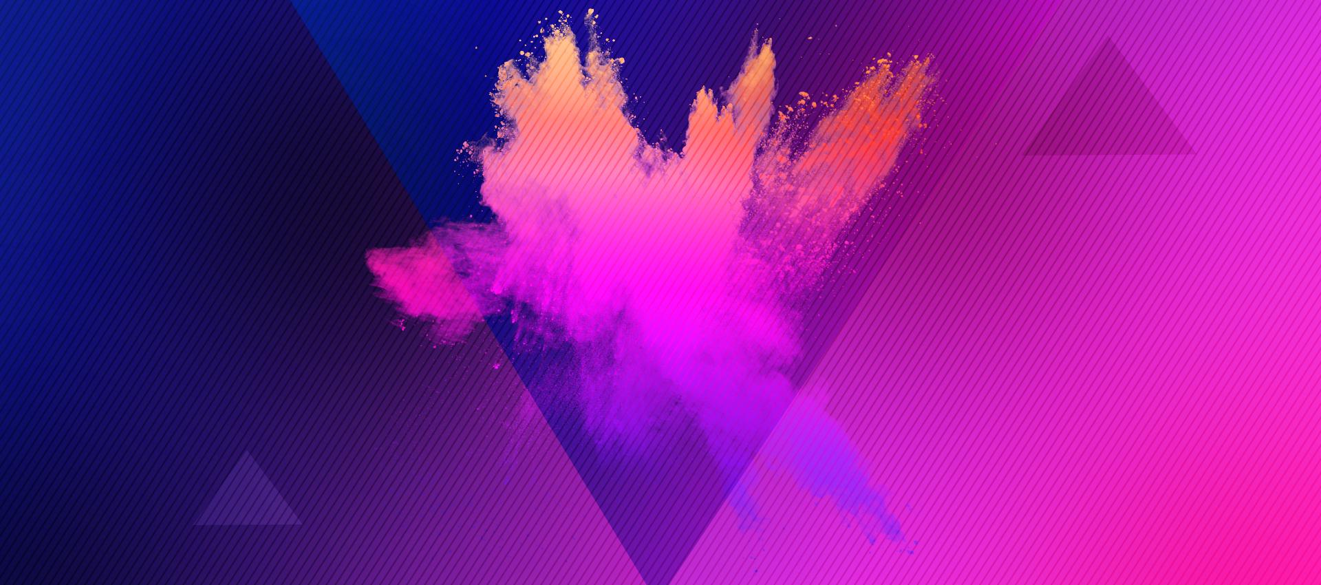 Purple Geometric Gra Nt Electricity Purple Geometric