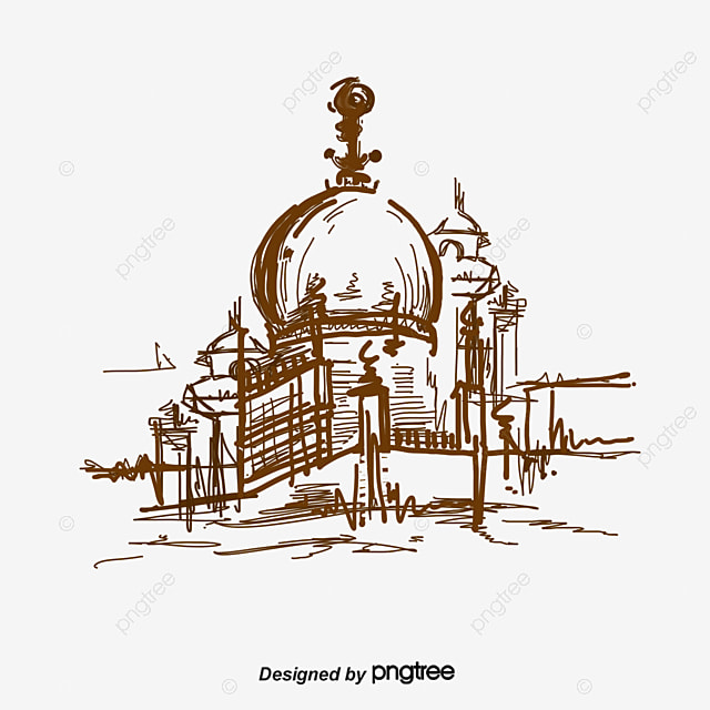 Vector Islamic Architecture Architecture Yellow Muslim Png And Vector For Free Download