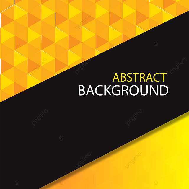 Abstract Polygon Yellow Modern Background Design Yellow