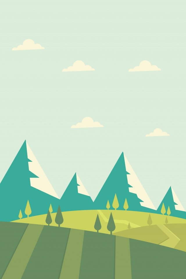 插画 户外道路景色 风景风景 户外旅行 户外道路景色插画 png和矢量