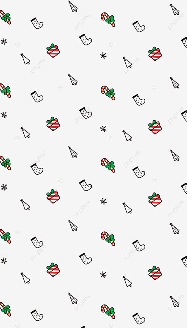 圣诞节底纹 红色的圣诞糖果 红色的礼盒 绿色的蝴蝶结