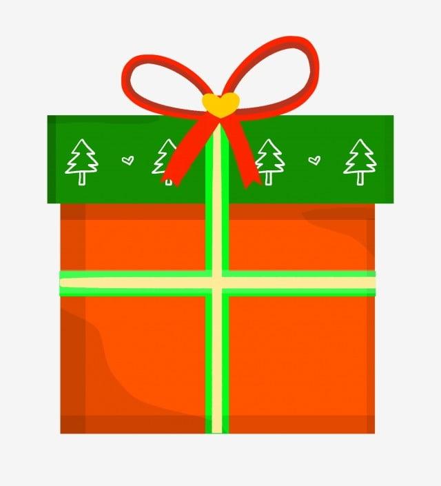 红色蝴蝶结 绿色盖子 黄色礼品盒 节日礼品盒