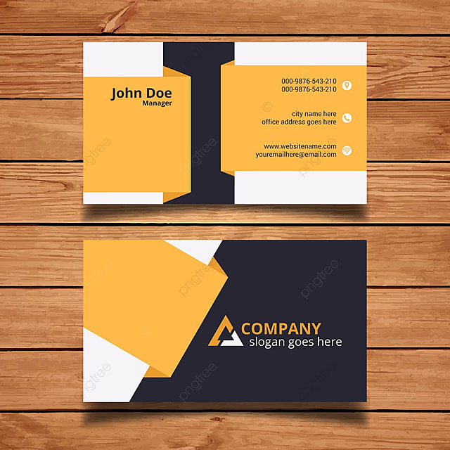 Company Business Cards Templates