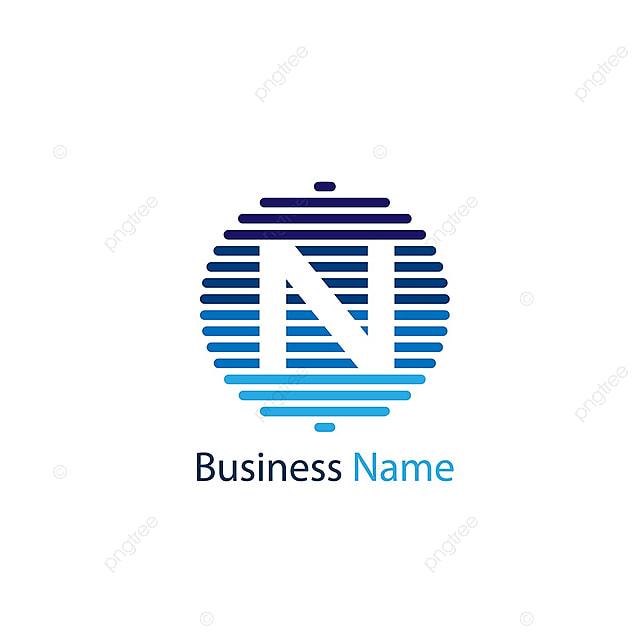 字母n标志范本 高级模板