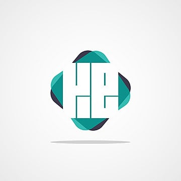 initial letter ke logo design 模板图片