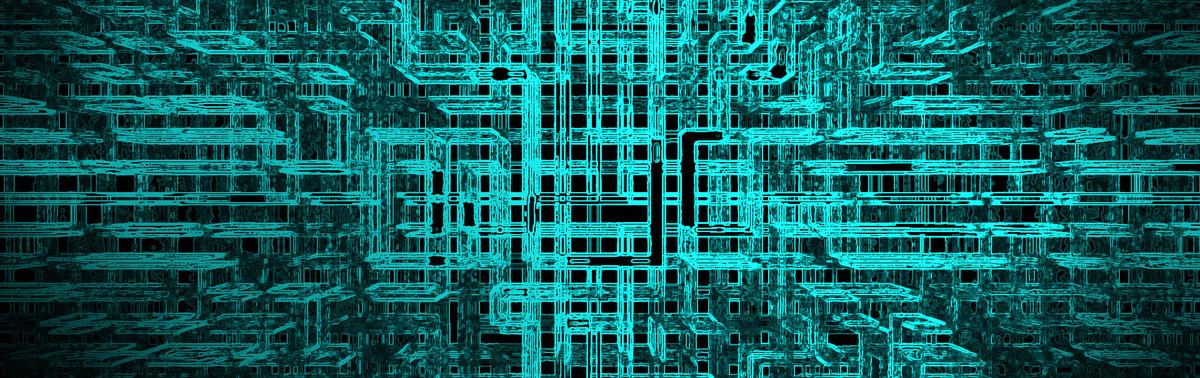 向量电路晶片纹理背景免费下载