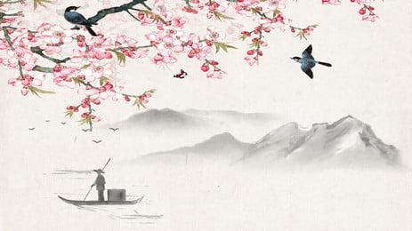 山水花鸟蝶动物鱼风景动态壁纸