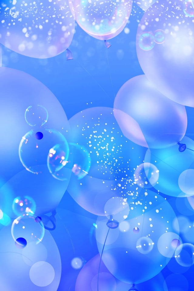 唯美紫色泡泡蓝色渐变背景 唯美 紫色泡泡 泡泡