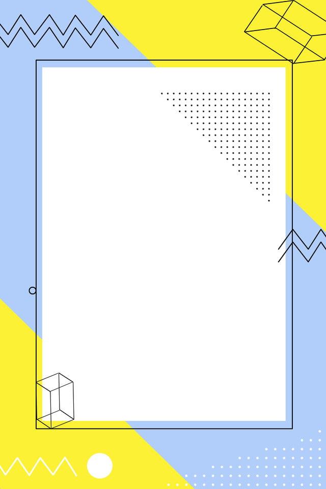 几何线条海报背景图 几何 渐变背景 波普风