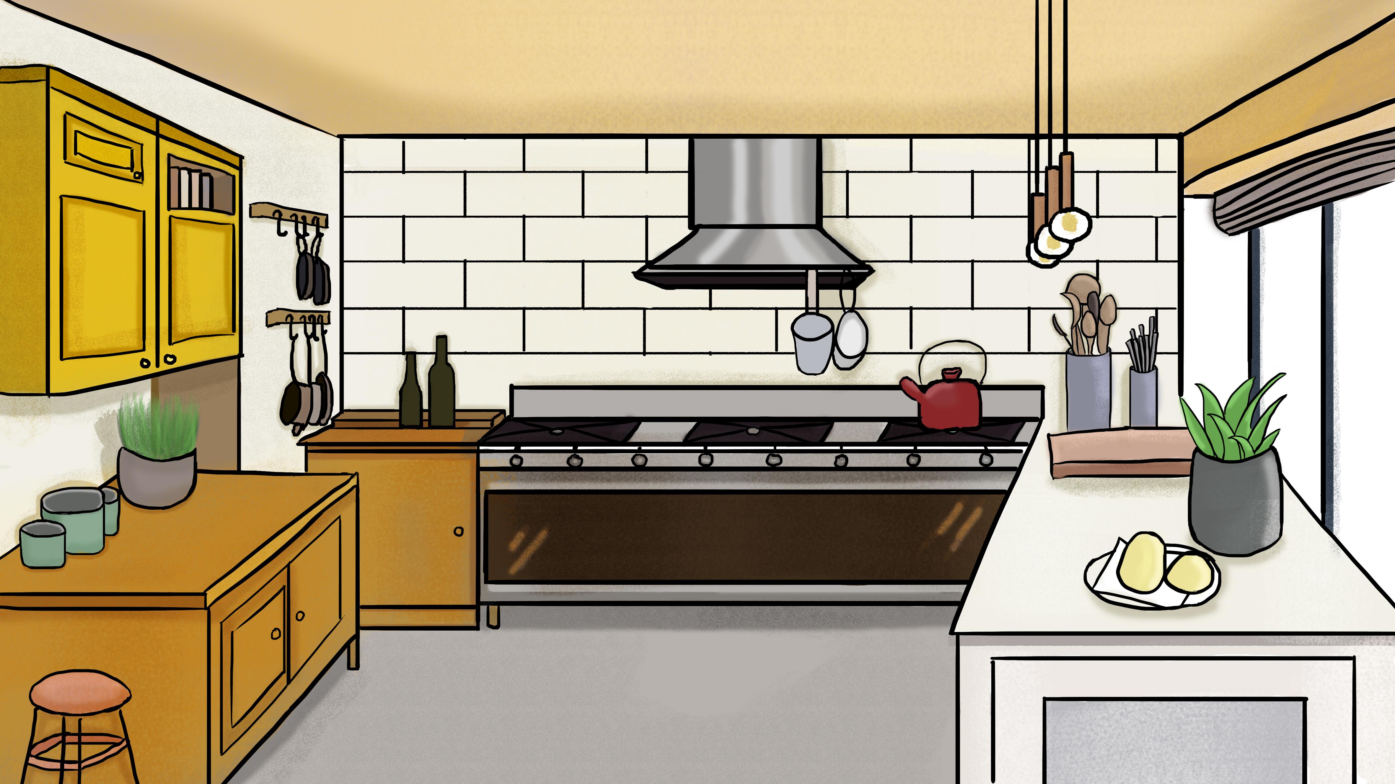 бассейны кухонные картинки мультяшные сильное