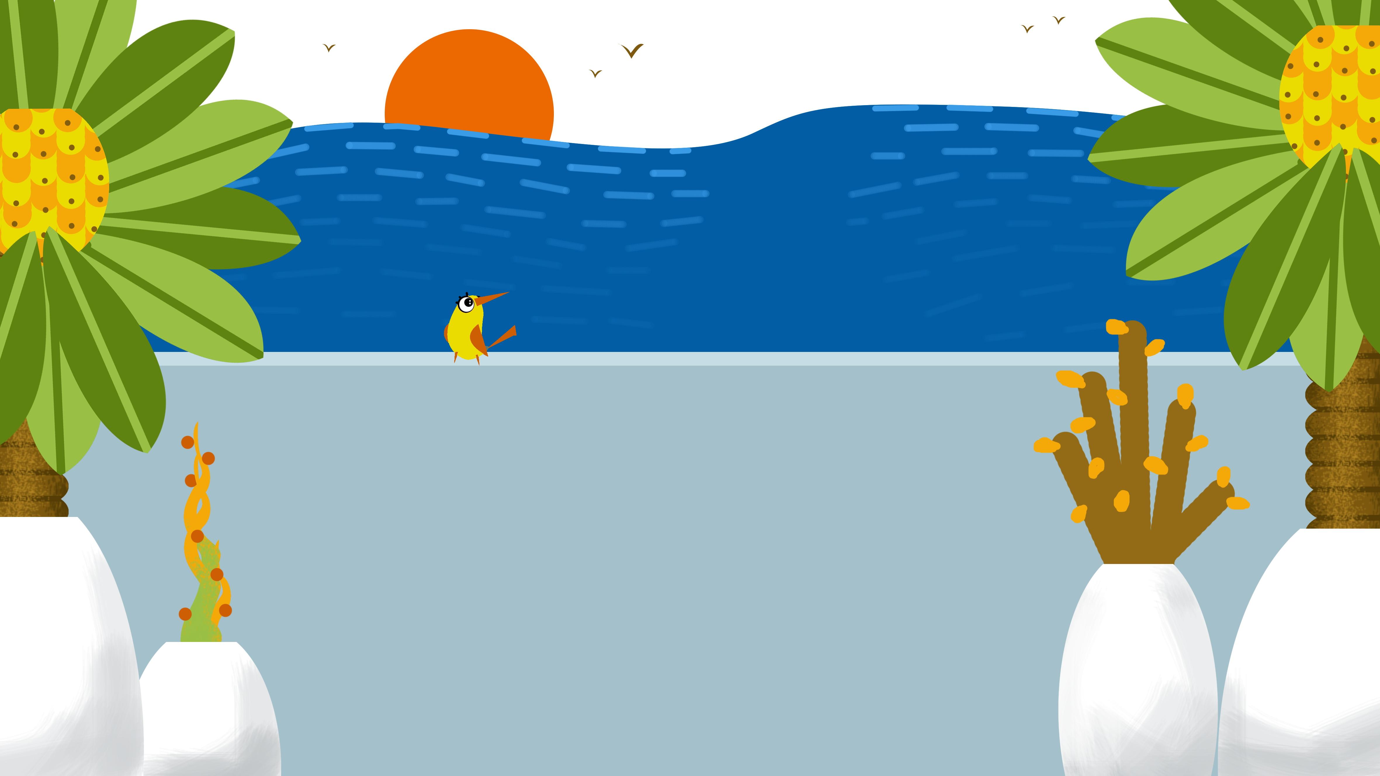 6600 Koleksi gambar pemandangan di pantai kartun Terbaik