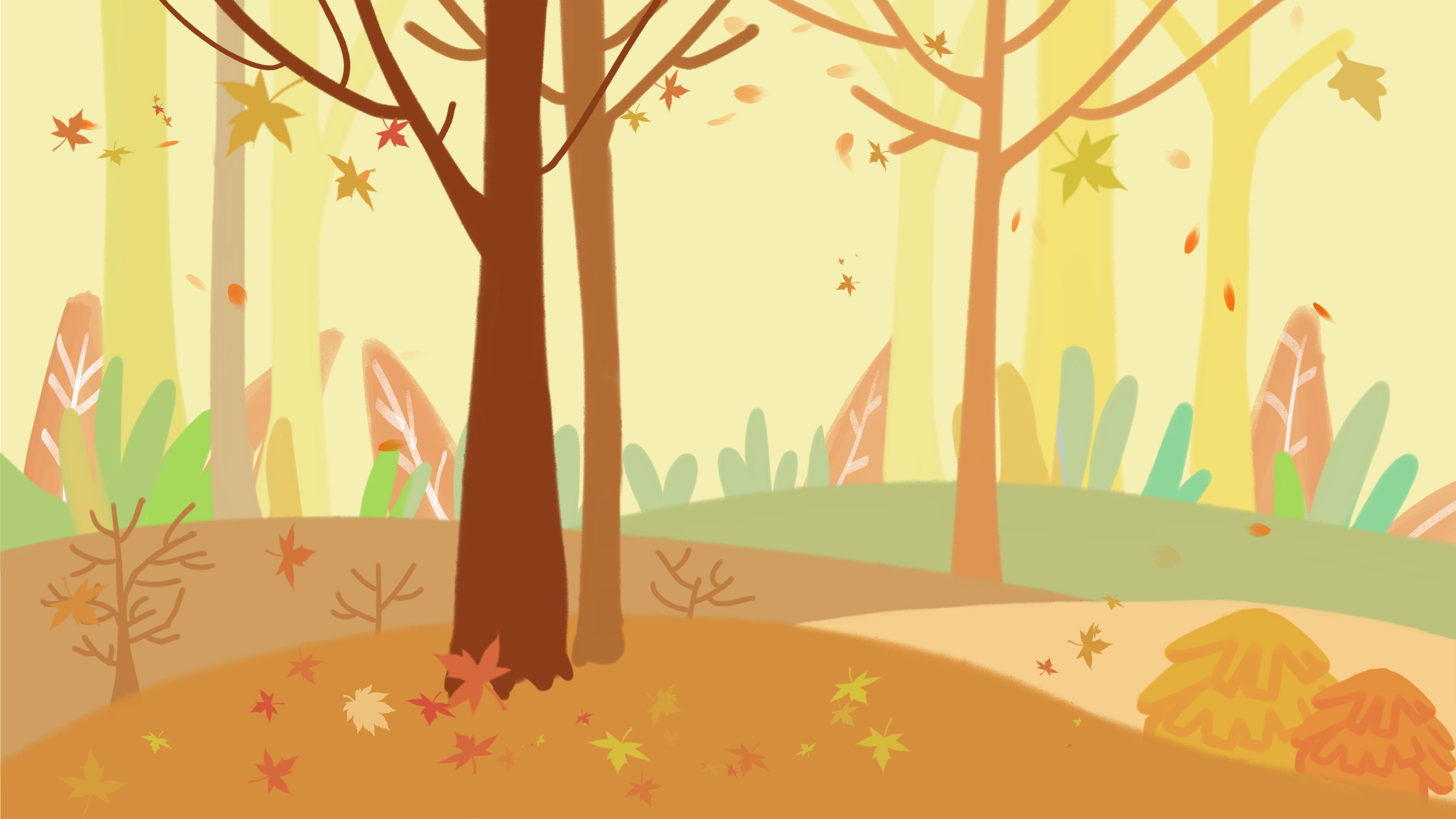 картинка для аппликации лес этом