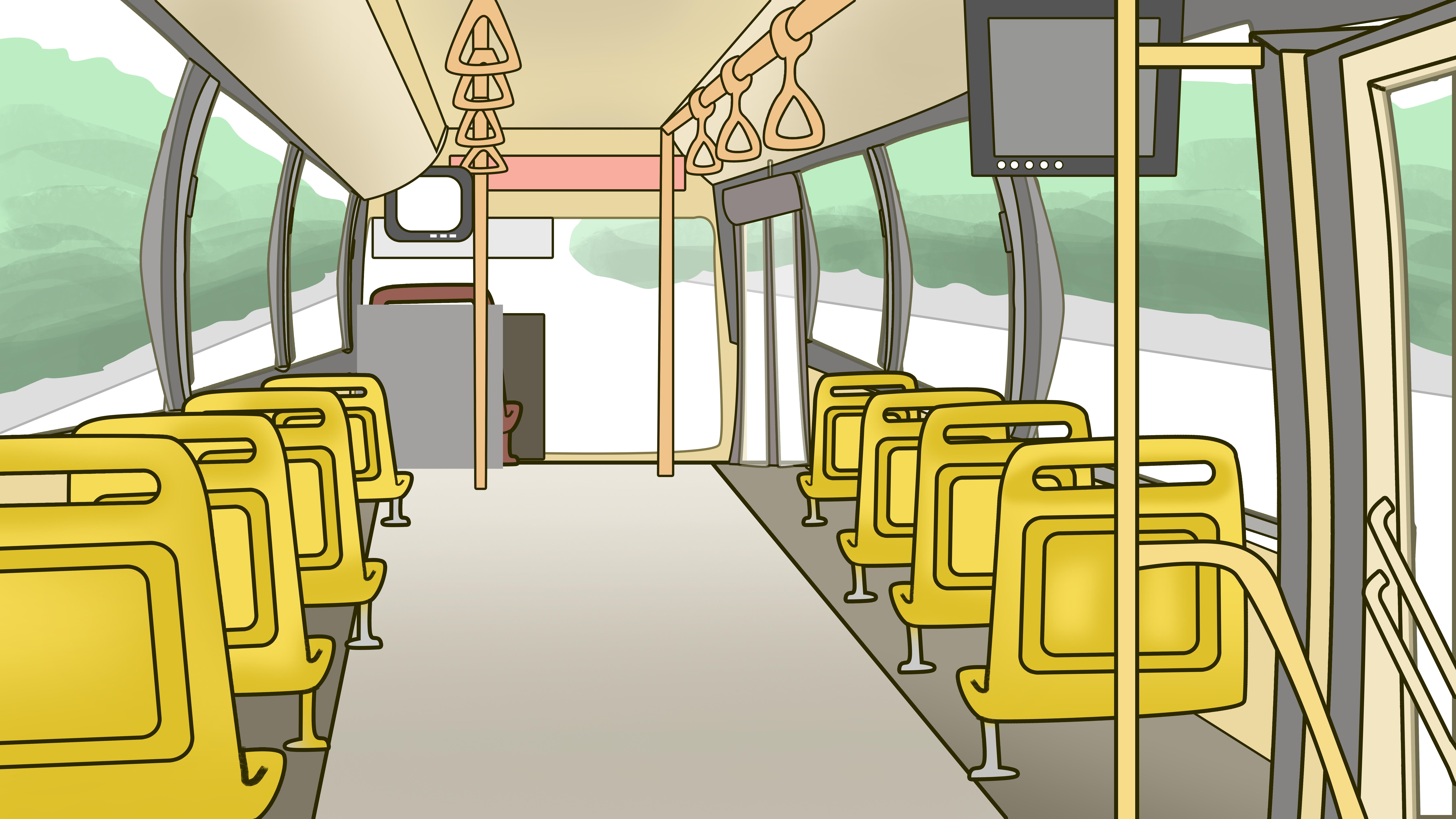 Автобус изнутри картинка этого
