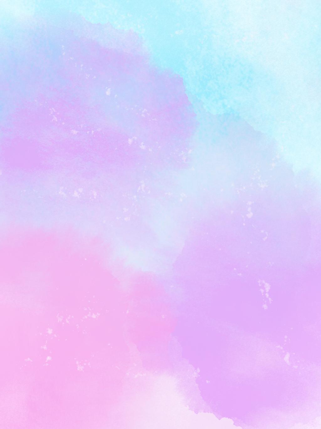 粉紫色背景_粉紫藍色水彩水彩背景 水彩風格 水彩背景 藍粉色背景圖片免費下載