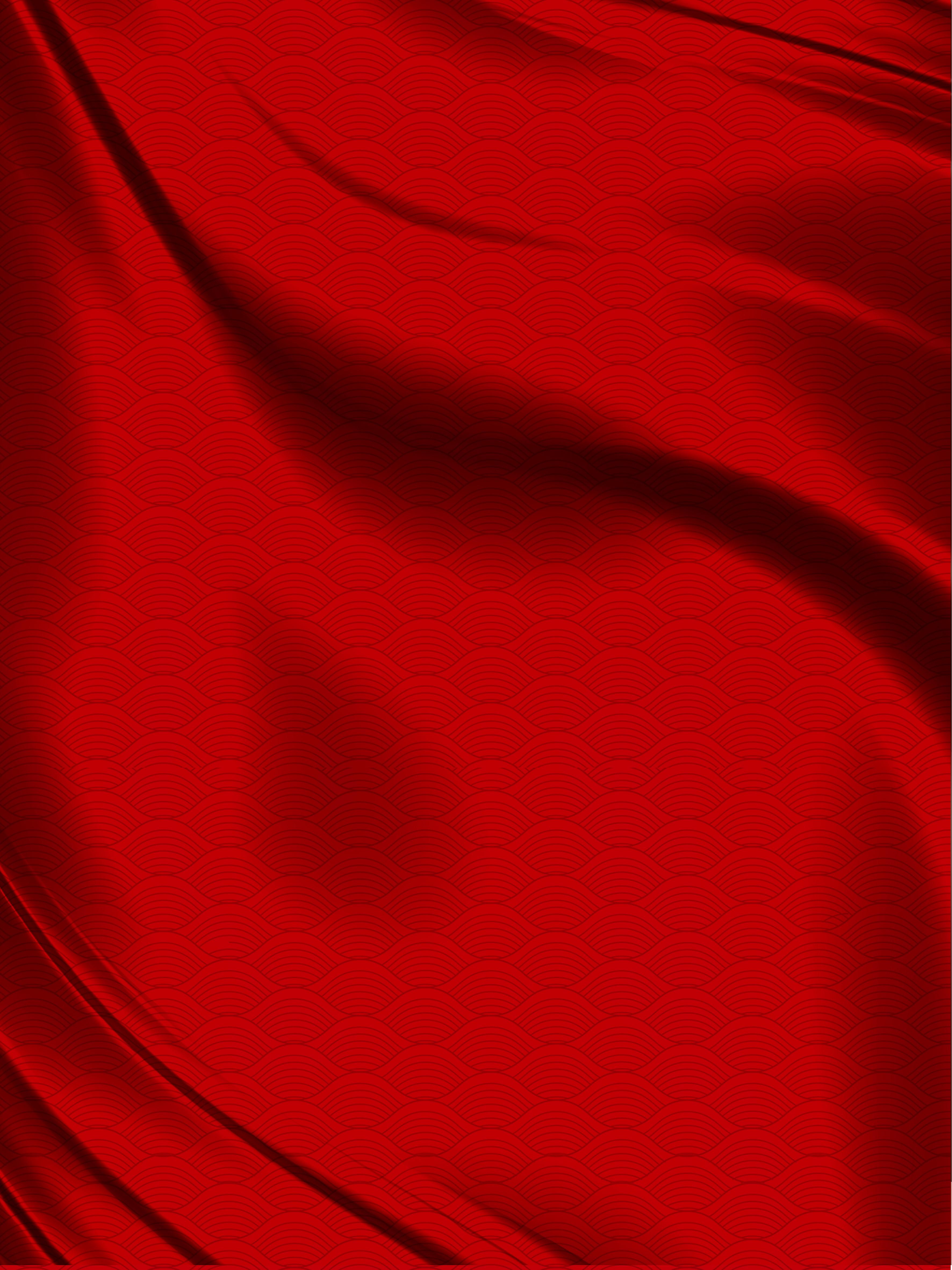 Фон красная ткань