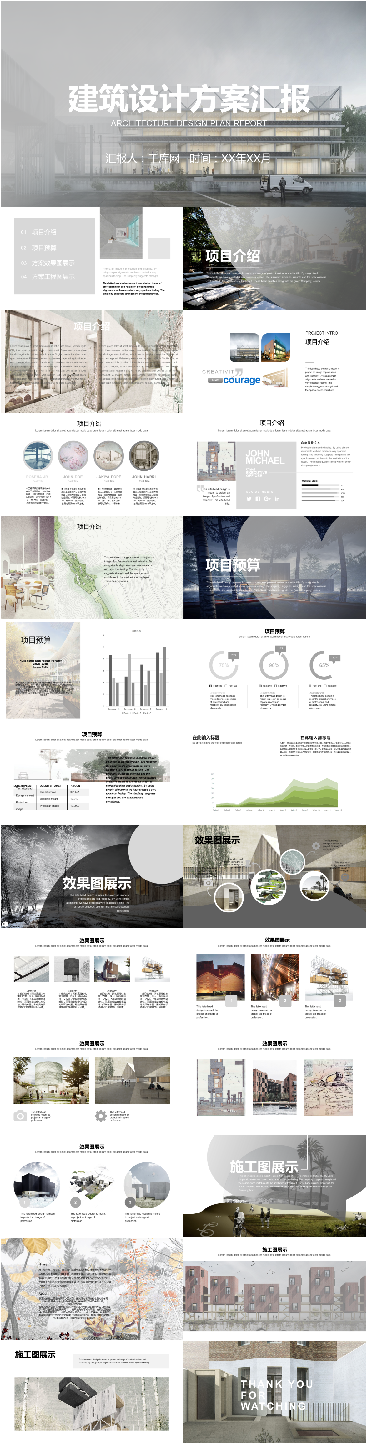 Awesome ppt template for architectural design project project of ppt template for architectural design project project of european and american construction industry toneelgroepblik Image collections
