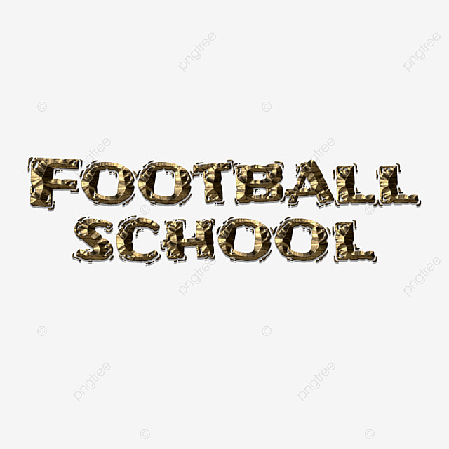 Creative football school fonts Art Font For Free Download