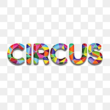 creativ 3d colorful circus fonts Fonts