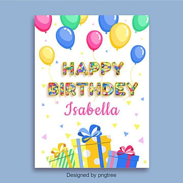 Happy Birthday Card Png Images Vectors And Psd Files Free