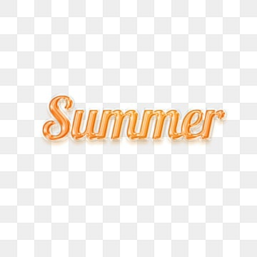 orange plastic summer fonts design Fonts