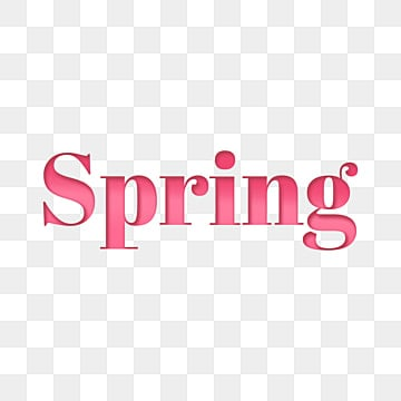 simple spring fonts Fonts