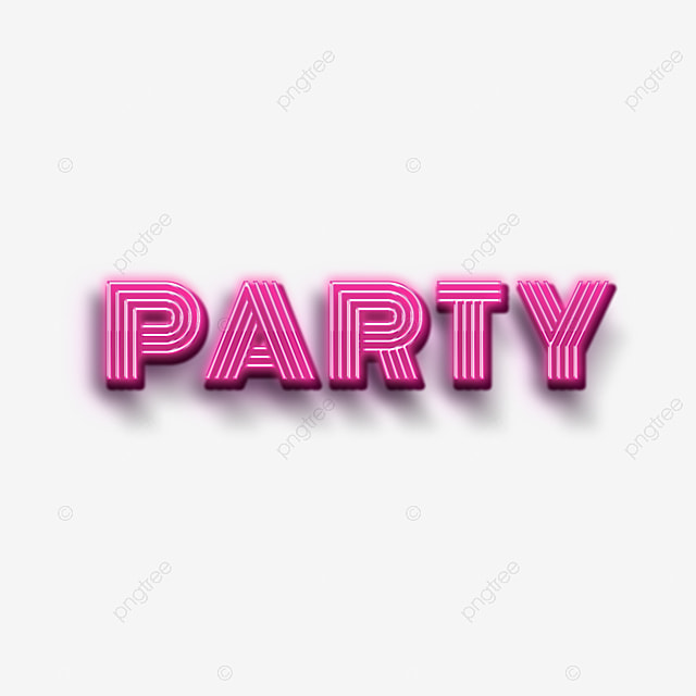 light pink party fonts design art font for free download