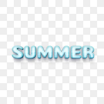 white wave point 3d summer font design Fonts