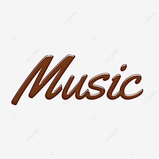 3d Music Font Design Font Effect Psd For Free Download