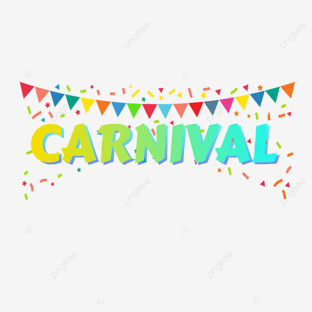 Gradient Carnival Fonts With Colored Flags Art Font For Free Download