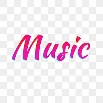 pink music light font design Fonts