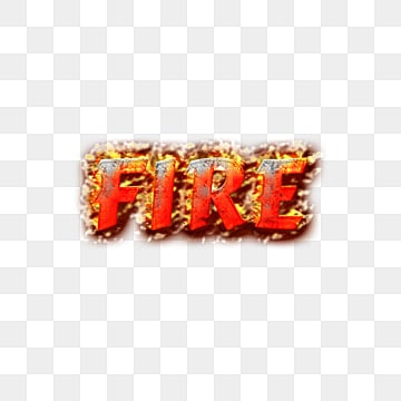 abstract burning fire fonts Fonts
