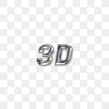 modern 3d simple fonts Fonts