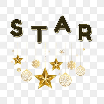 modern simple star fonts with ornament Fonts