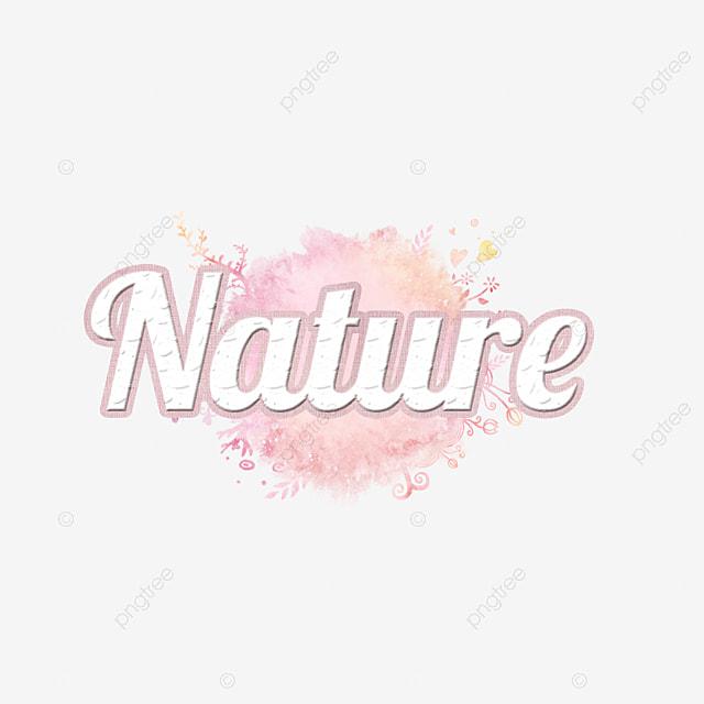 ca1c9b114 Bela natureza abstrata com aquarela design Letra Fonte para download ...