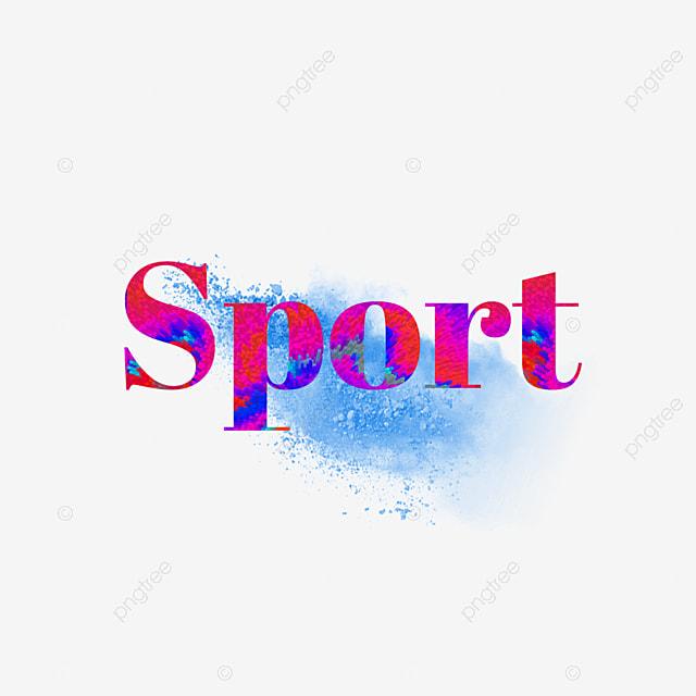 54e8402e0 Aquarela Esporte simples com design somke Azul Letra Fonte para ...