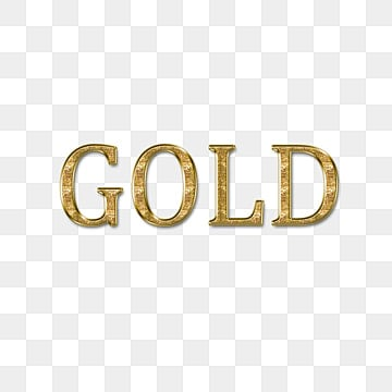 glitter gold simple font design Fonts