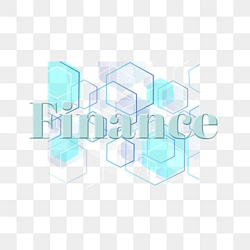 modern finance simple font design with geometric Fonts