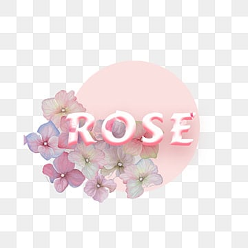 beautiful flower and pink with rose fonts Fonts