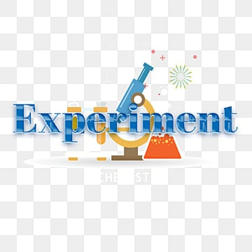 modern blue experiment simple font with microscope pattern Fonts
