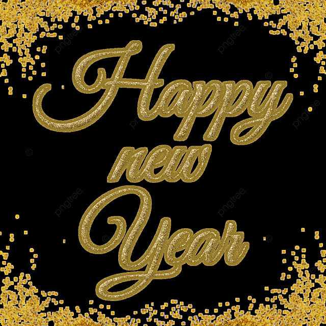 Happy New Year Font 6