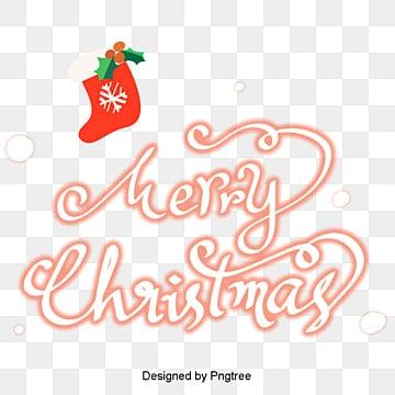 크리스마스 큐트 스타일 캘리그래피 스타킹 원소 소재 스티커, 큐트, 스티커, 소재 PNG 및 PSD