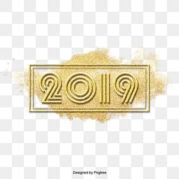 กรอบสี่เหลี่ยม2019 happy new yearสีเหลือง  สีทอง  กรอบสี่เหลี่ยมสีทอง PNG และ PSD