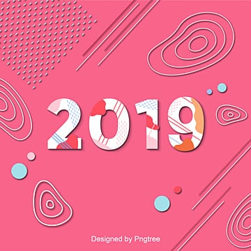 2019 pink for the incremental scene that the korean font, 2019, A Story, Line PNG and Vector