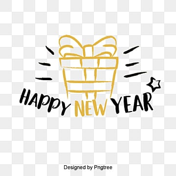 new years english font decorative font design of golden black new year font in 2019 Fonts