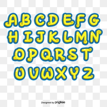 cute hand painted typeface design english alphabet Fonts