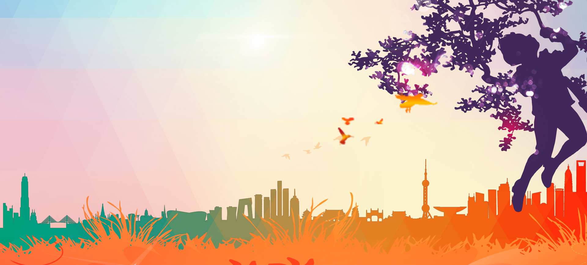 silhouette map design tree background  art  graphic
