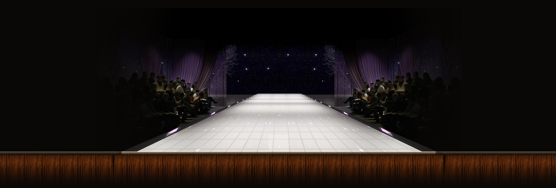 Stage Atmospheric Poster Background Curtain Stage Light
