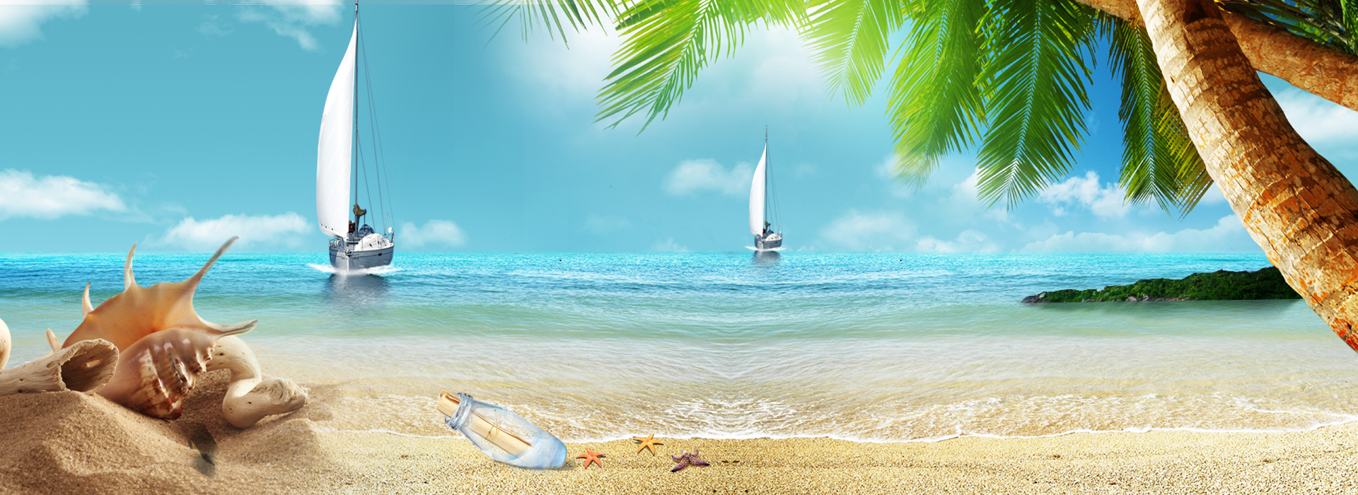 sandy beach banner  sandy  beach  banner background image for free download