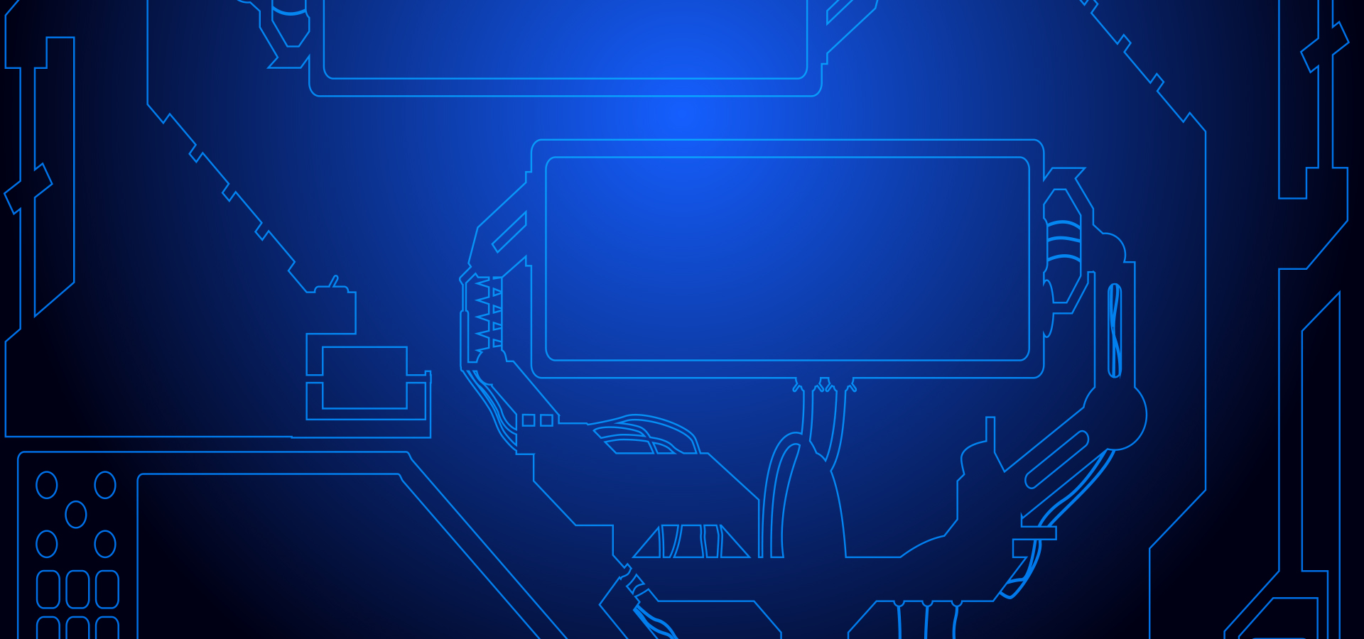 Science And Technology Of Hightech Circuit Board Background High Photo Abstract Blue Vector With Tech Image For Free Download