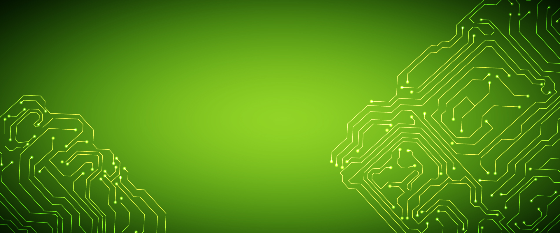 Green Technology Circuit Board Background Poster Banner Science Vector Ai Free Graphics Download Image For